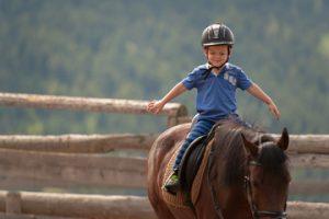 Equitazione bambini a Roma